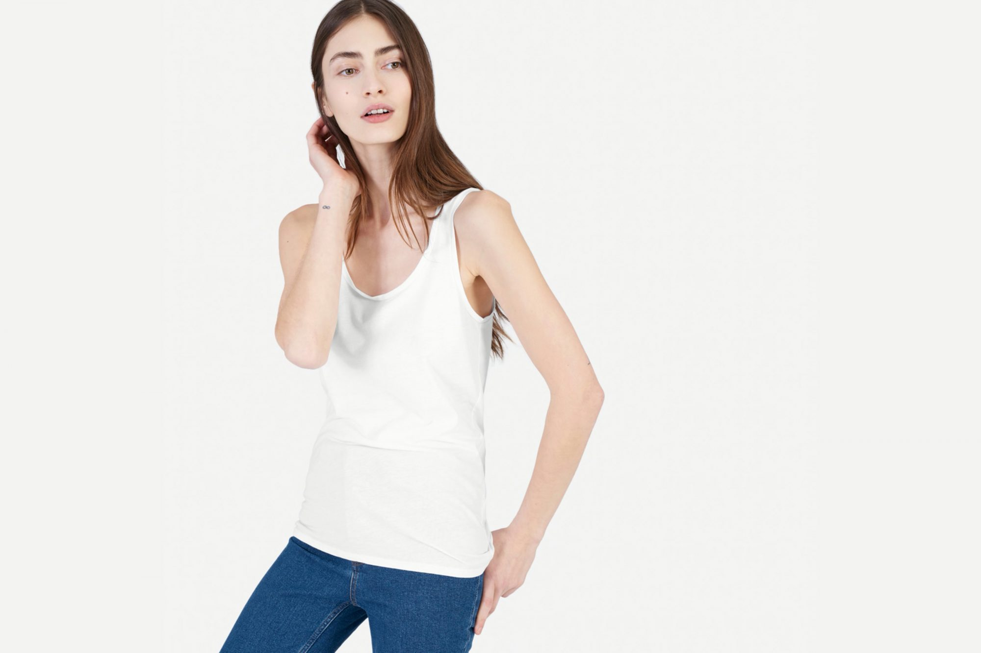 everlane choose what you pay sale tank top
