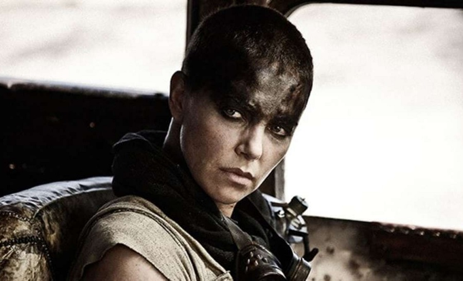 charlize theron as furiosa in mad max fury road movie