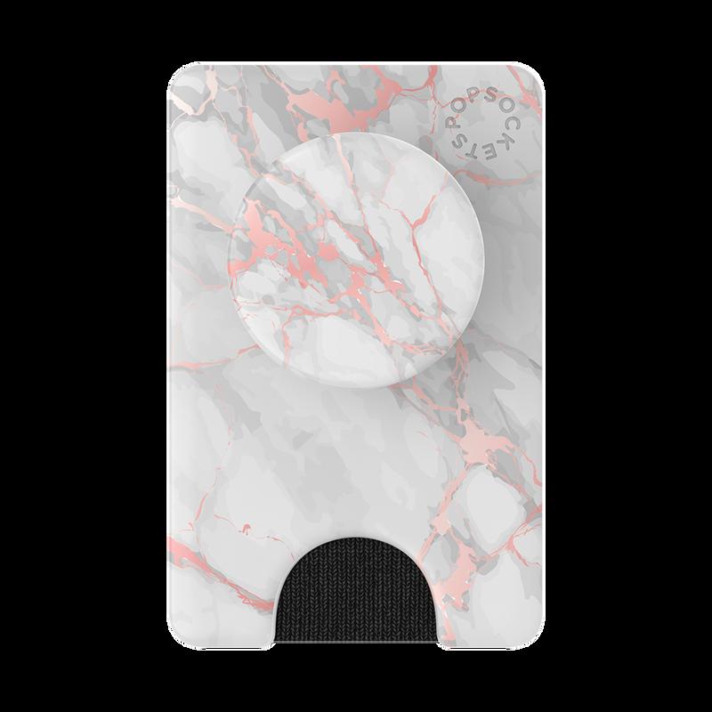 PopWallet + Rose Gold Marble