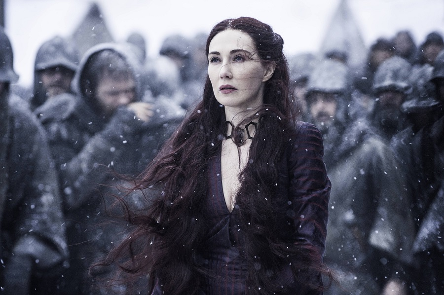 melisandre in game of thrones finale