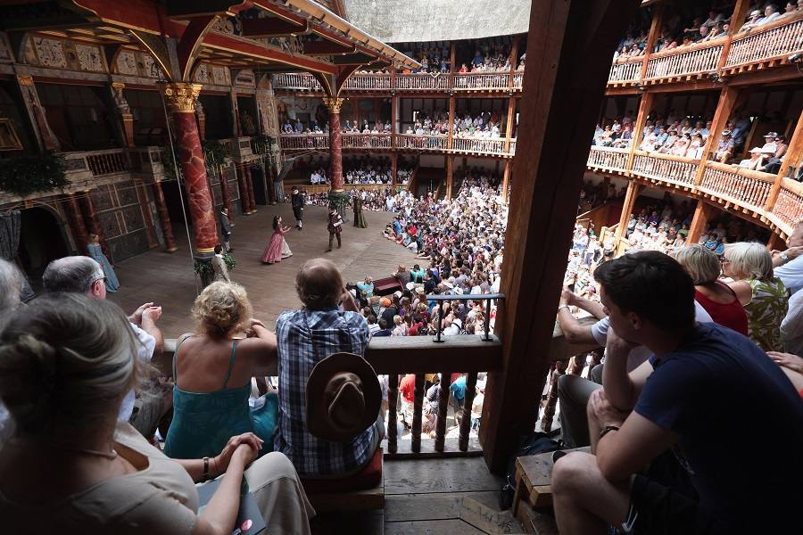 shakespeare globe theatre in london