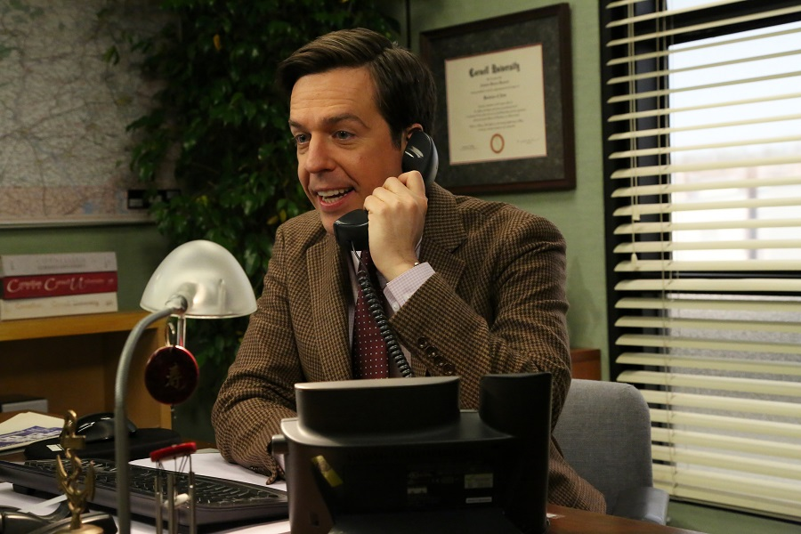 ed helms as andy bernard in the office on NBC