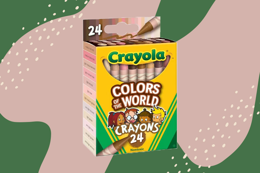 crayola colors of the world skin tone crayons