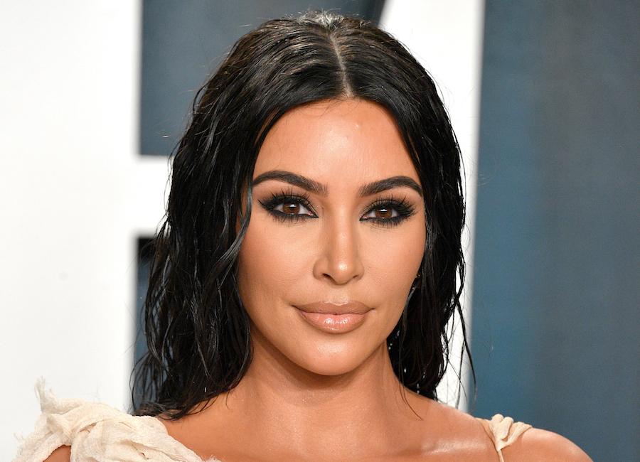 kim kardashian post-makeup spf