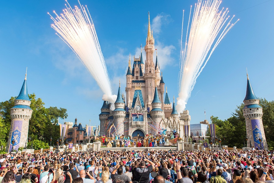 magic kingdom at walt disney world, disney reopen after coronavirus
