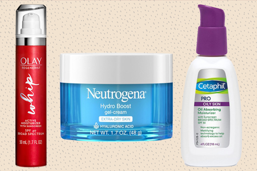 drugstore face moisturizers