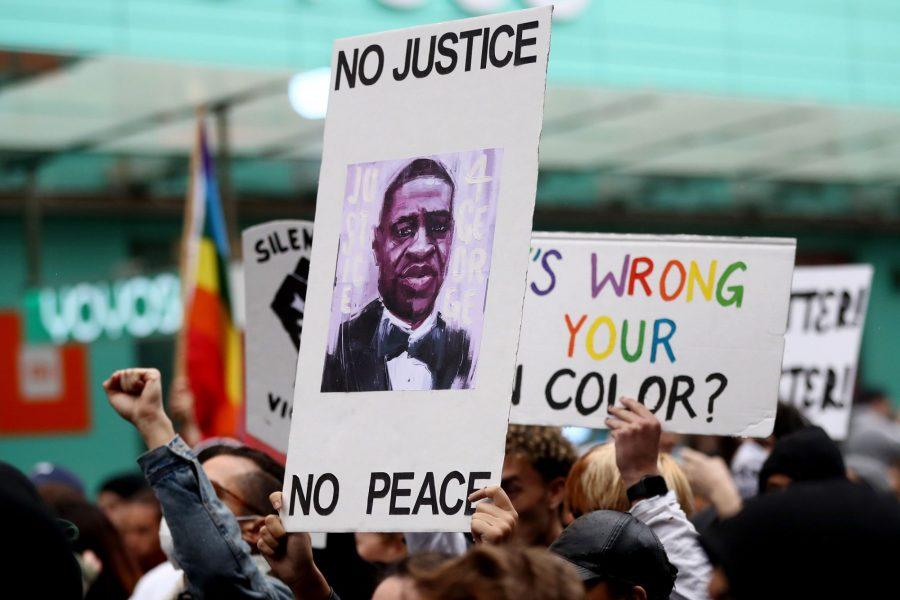 George Floyd protest Black Lives Matter