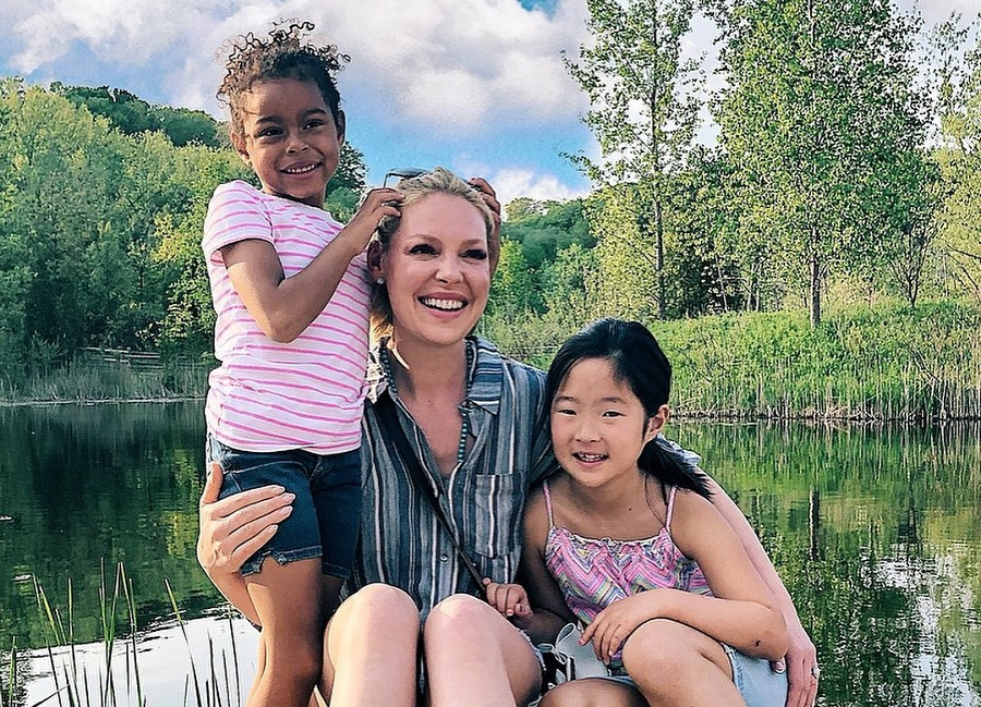 katherine heigl and her daughters