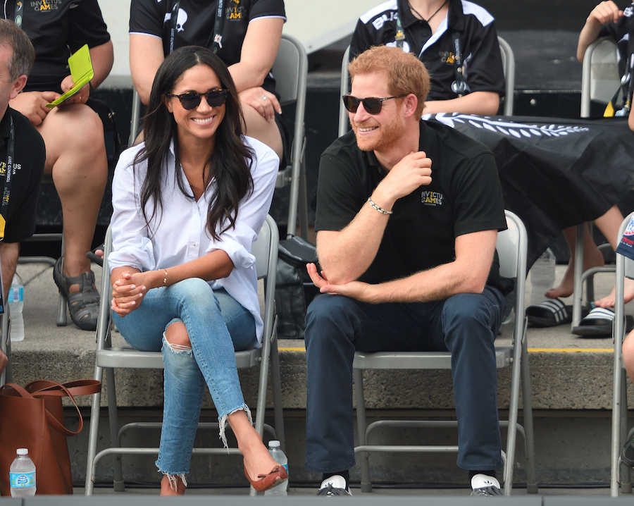 meghan markle mother denim jeans