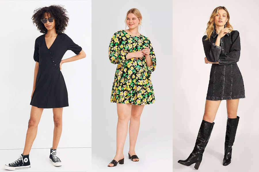 mini dresses for tall women