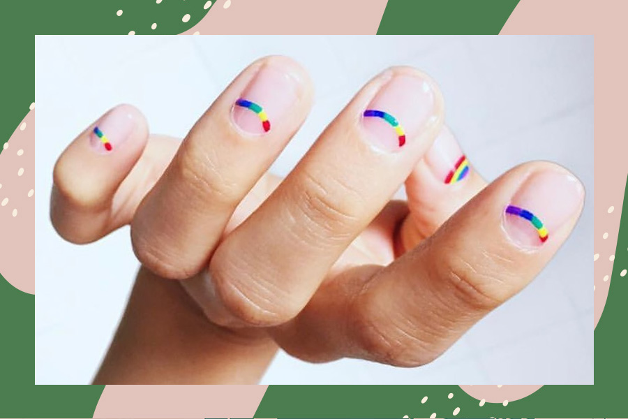 pride nail art 2020