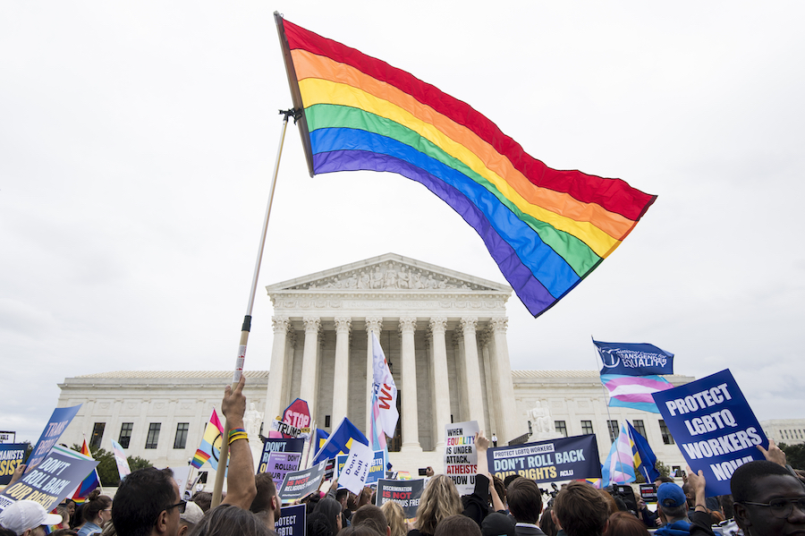 lgbtq workers, civil rights act of 1964, supreme court
