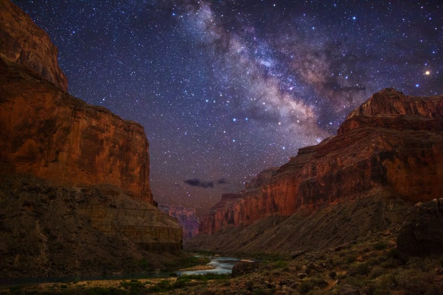 The Grand Canyon stargazing party
