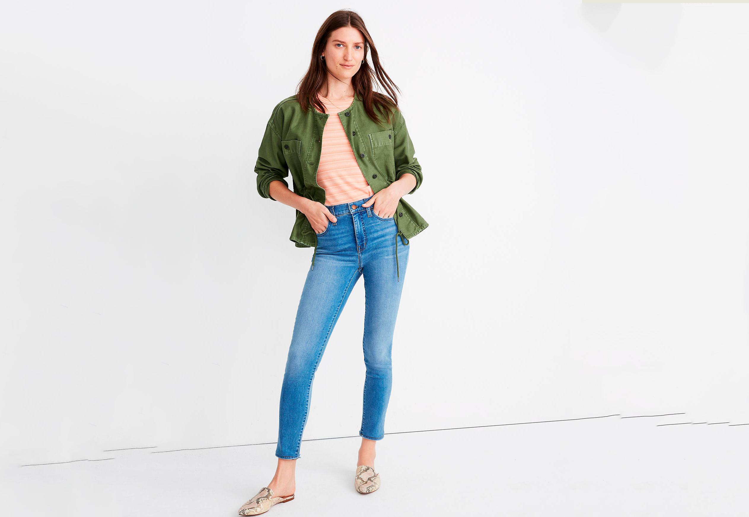 madewell petite high waisted jeans, best high-waisted jeans