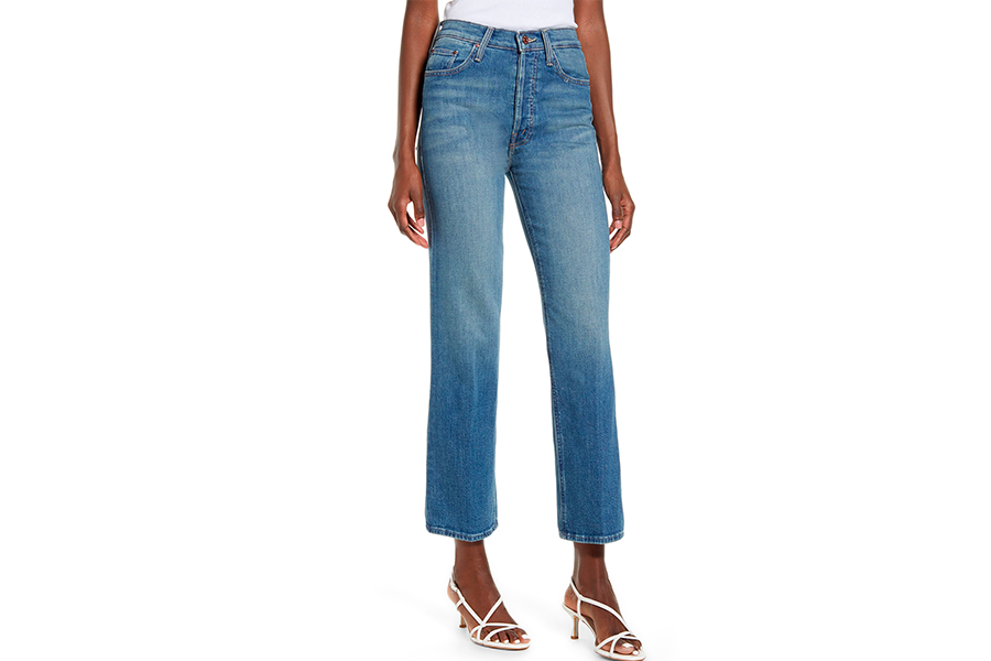 mother bootcut high waisted jeans, best high waisted jeans