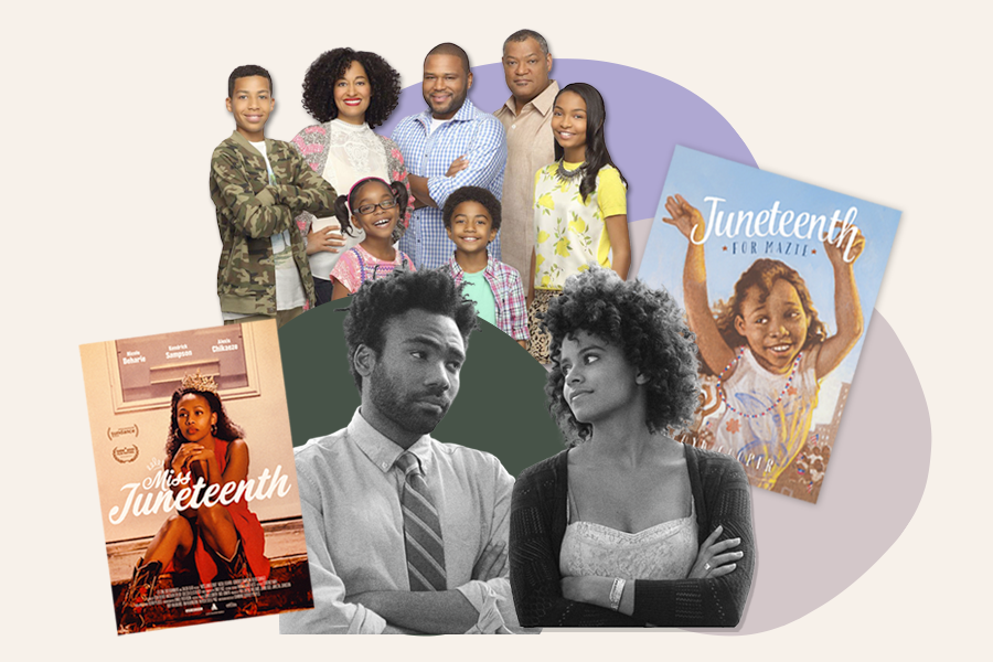 Juneteenth collage