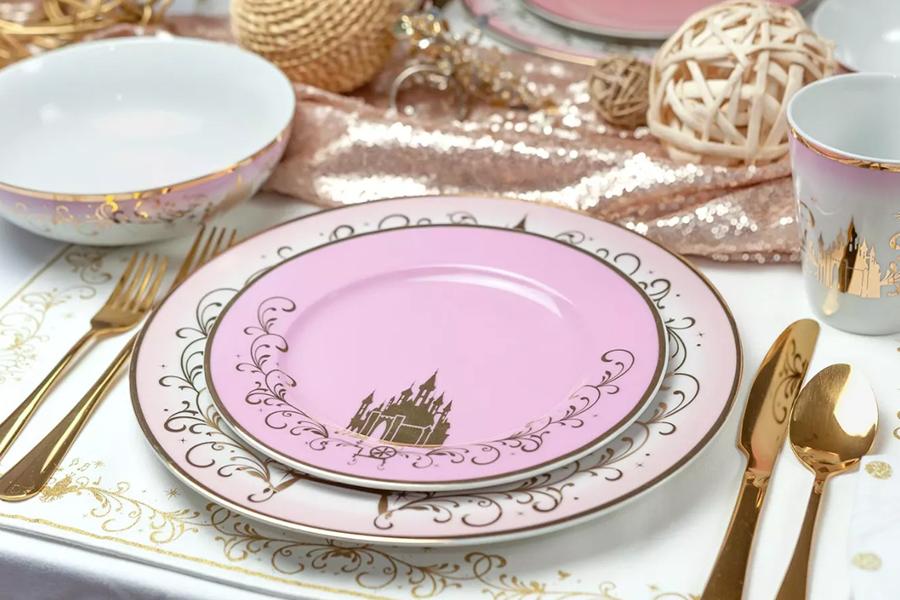 target princess dinnerware, princess plates