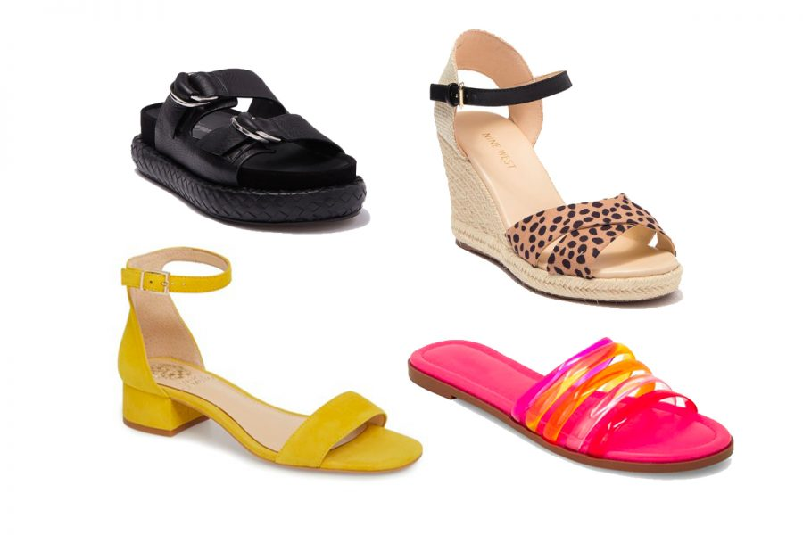Nordstrom Rack summer shoe sale