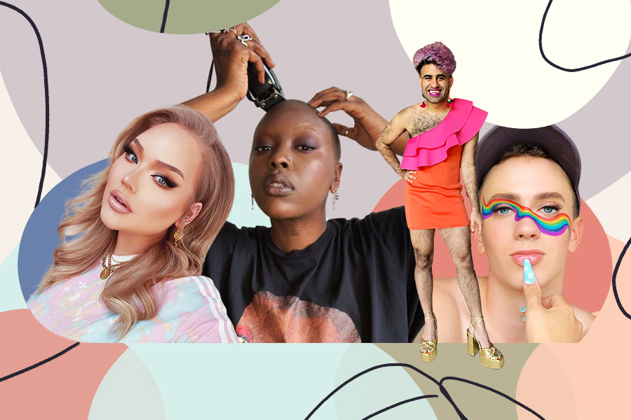 queer influencers to follow hellogiggles Matt Bernstein, Alok, Nikkie de jagger, char ellesse