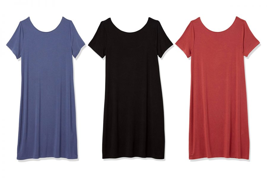 Daily Ritual T-Shirt dress Amazon Big Style Sale