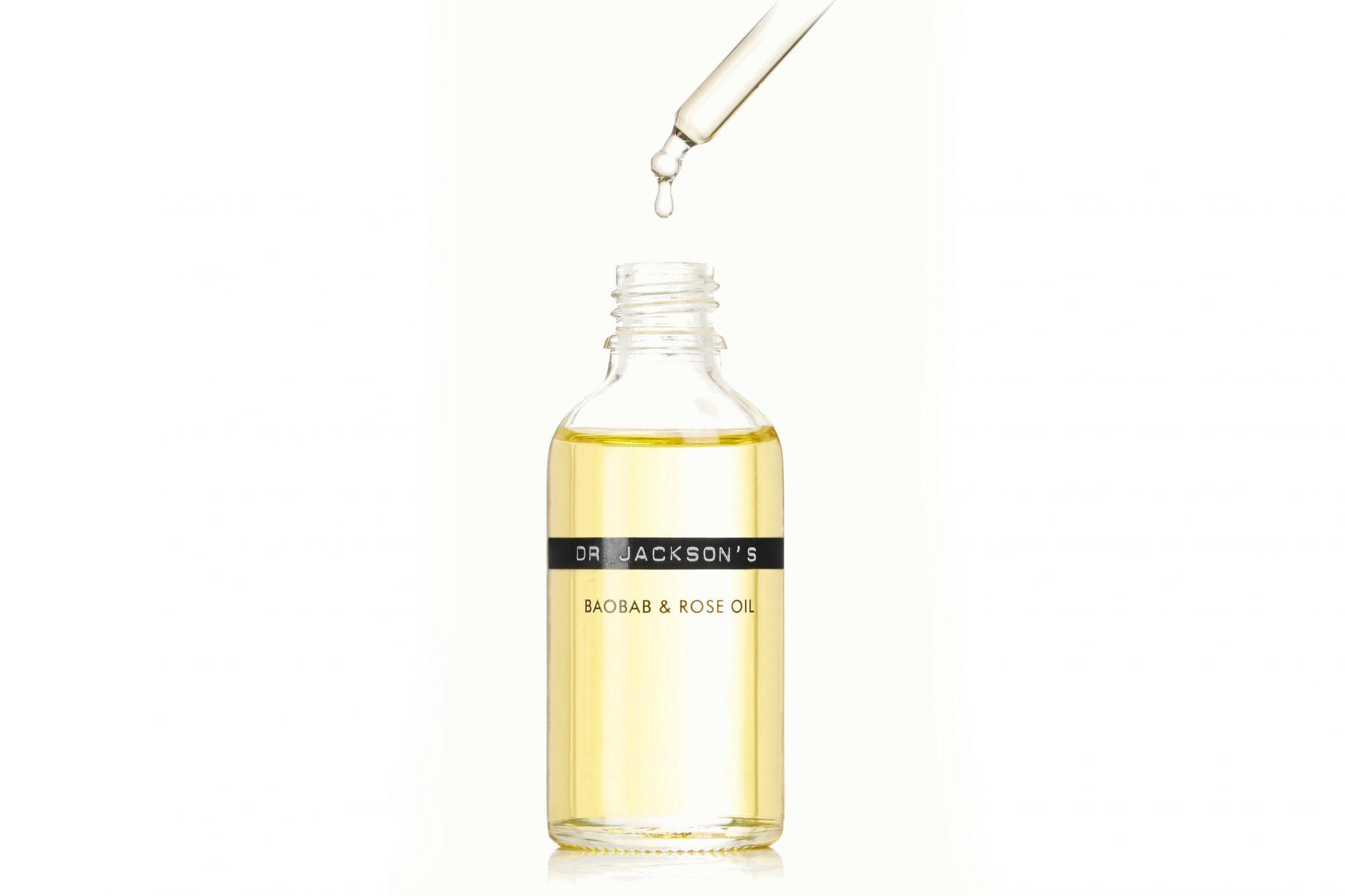 vegan skincare routine dr. Jackson's rose and baobab oil