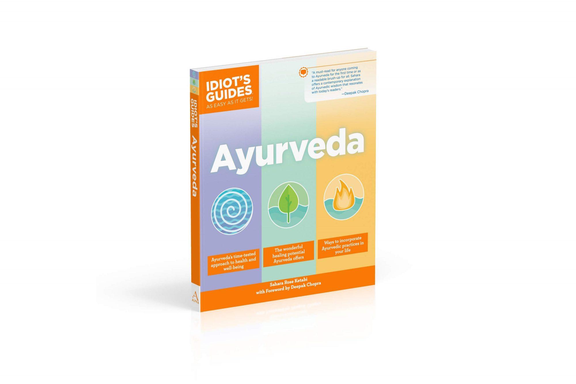ayurveda ayruvedic beauty guide book