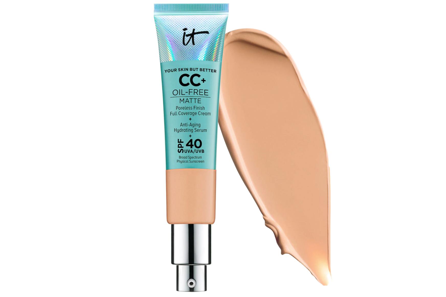 sweat-proof makeup it cosmetics cc cream