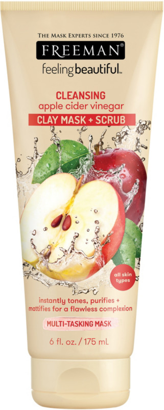 Freeman Feeling Beautiful 4-in-1 Apple Cider Vinegar Foaming Clay Mask