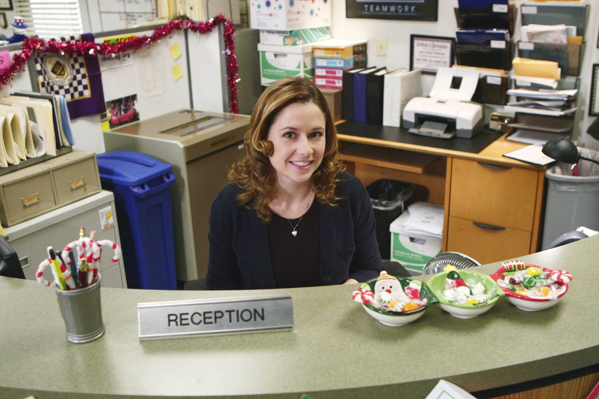 pam in the office tv show, jenna fisher