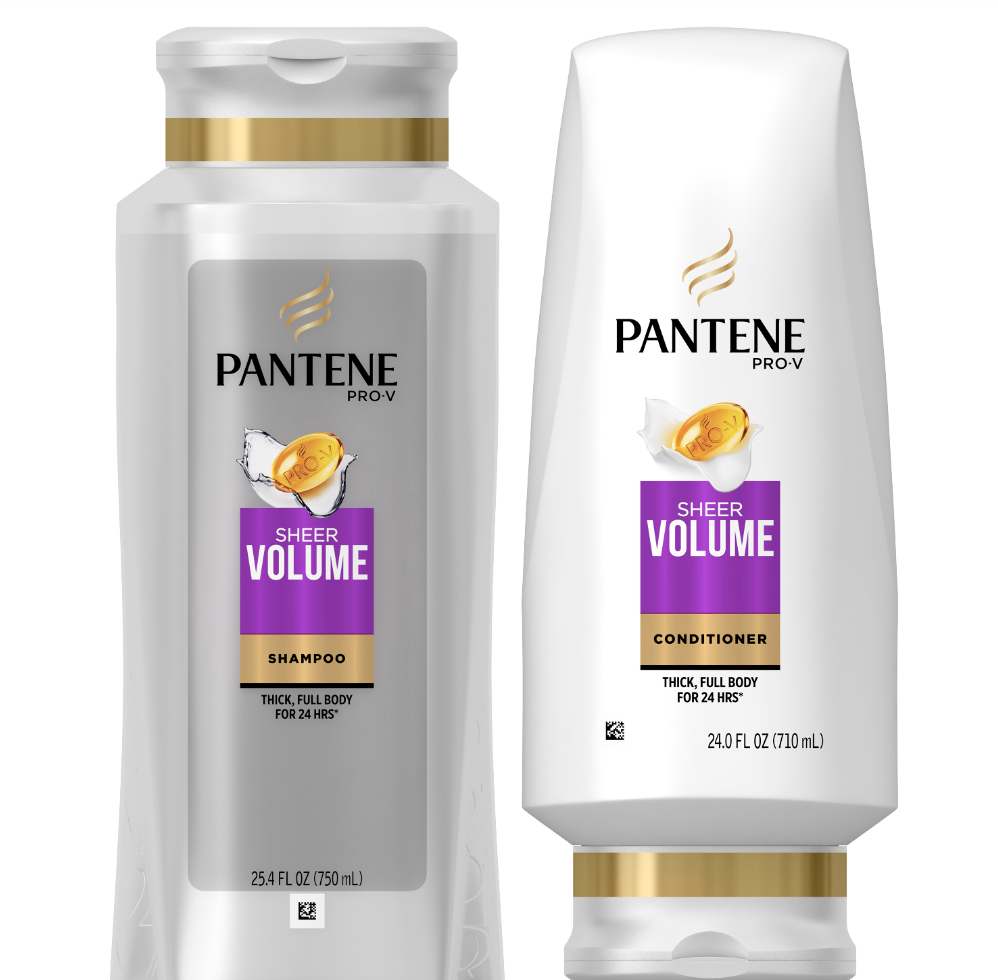 pantene sheer volume shampoo and contioner, best drugstore shampoo and conditioner