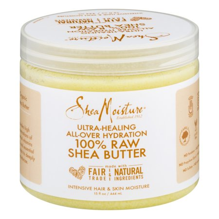 Shea Moisture Ultra-Healing All-Over Hydration 100% Raw Shea Butter