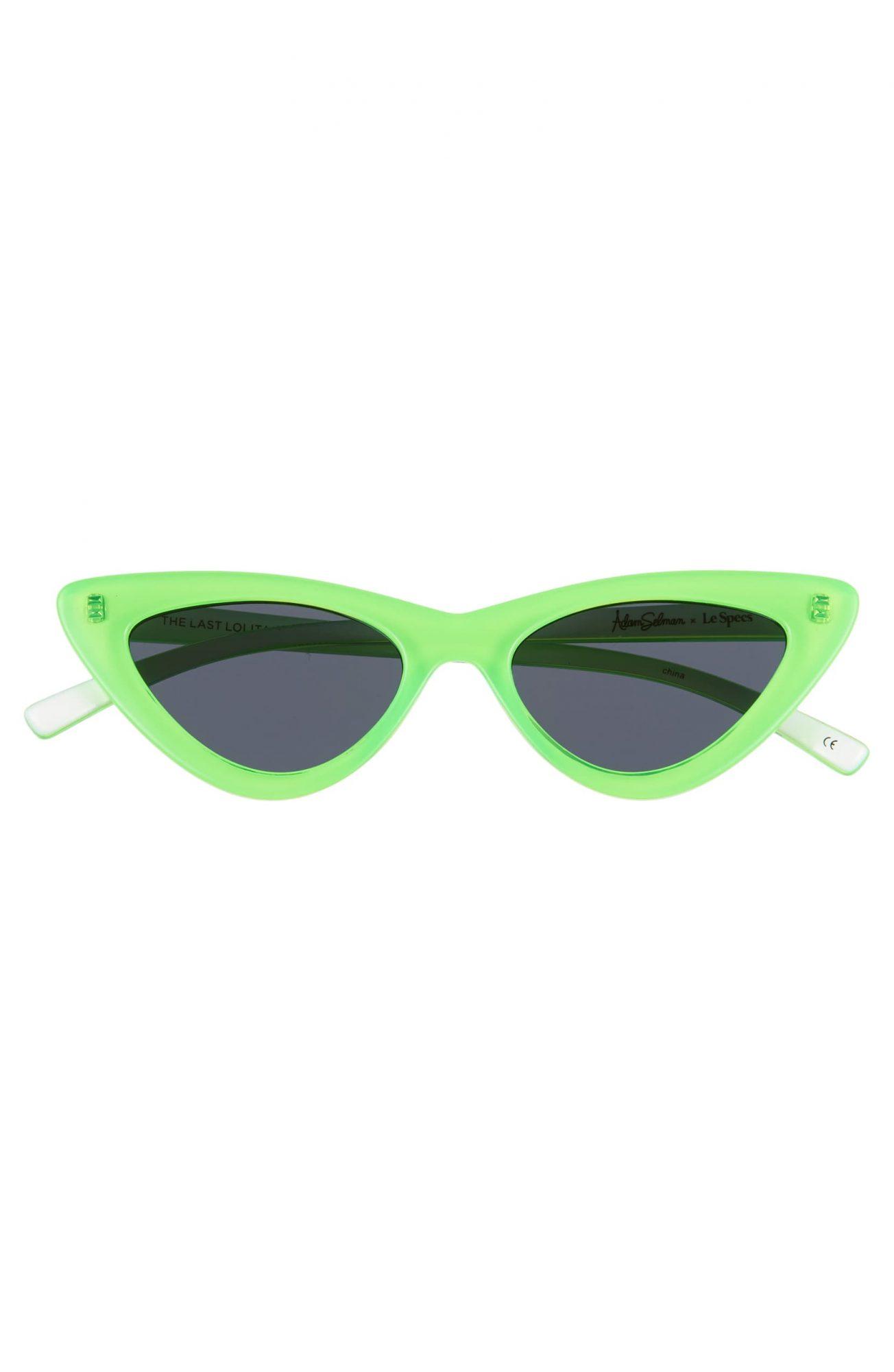 Adam Selman cat-eye sunglasses