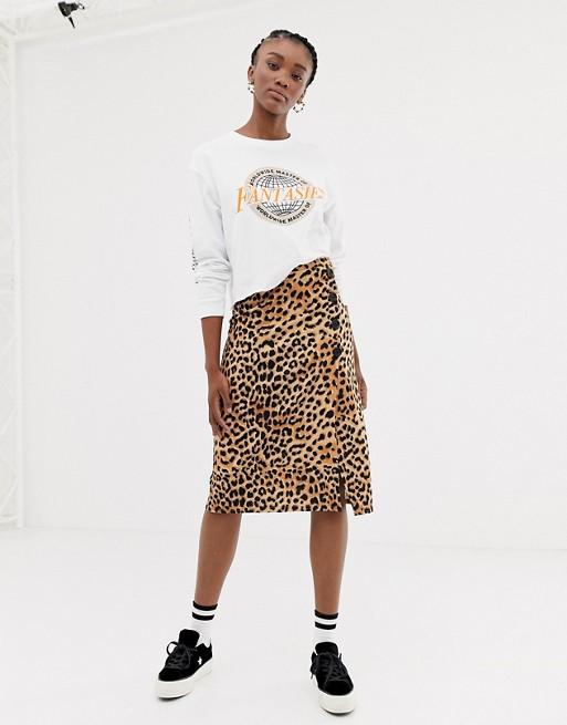 Leopard print skirts - asos