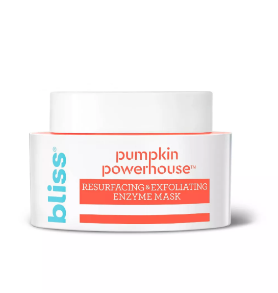 bliss pumpkin enzyme exfoliating mask, how to exfoliate your face