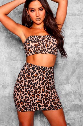 Leopard print skirts - Boohoo