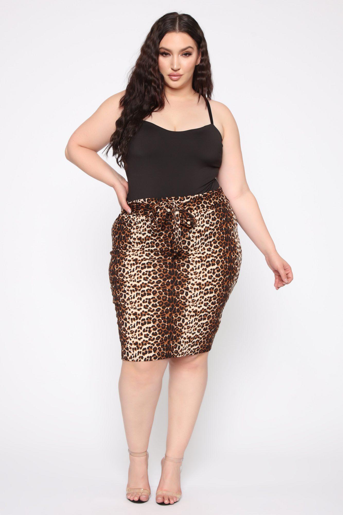 Leopard print skirts - FashionNova
