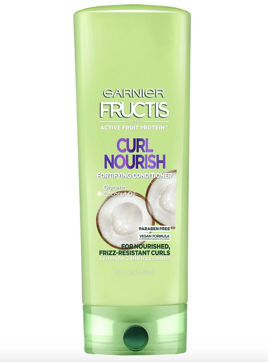 garnier curl nourish shampoo, best drugstore shampoo and conditioner