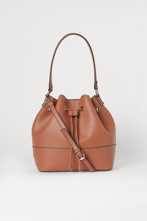 H&M bucket bag in brown