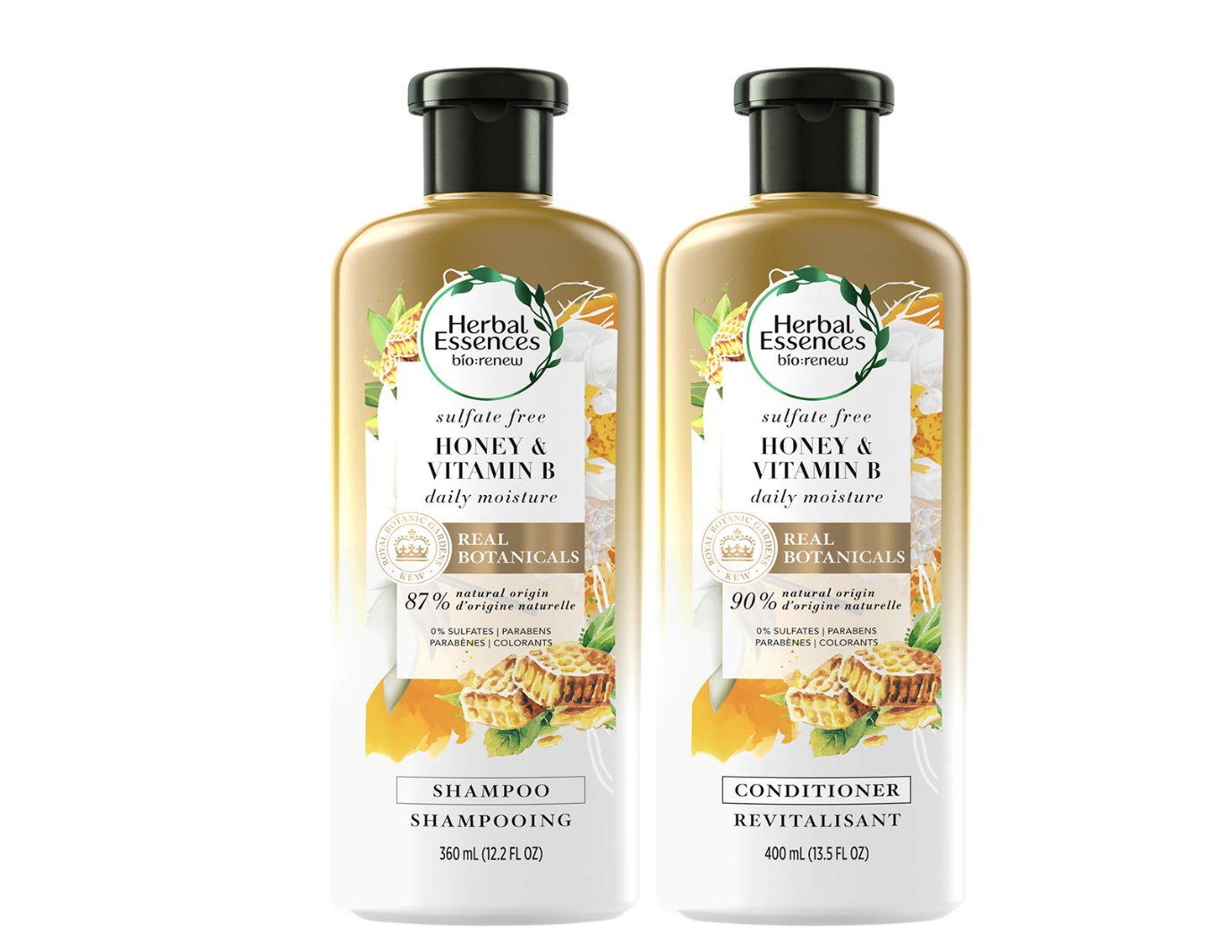 herbal essences sulfate free honey shampoo and conditioner