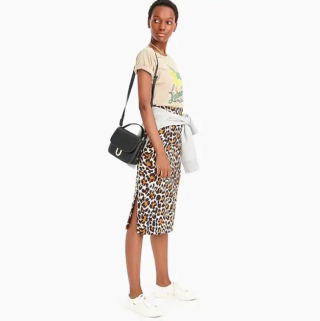 leopard print skirts - J.Crew