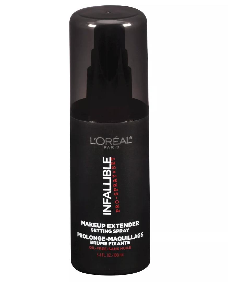 loreal infallible setting spray