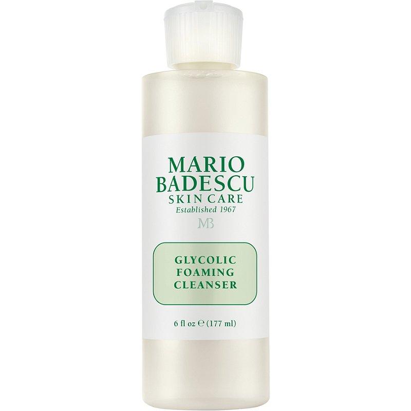 mario badescu glycolic cleanser, best exfoliator for acne prone skin