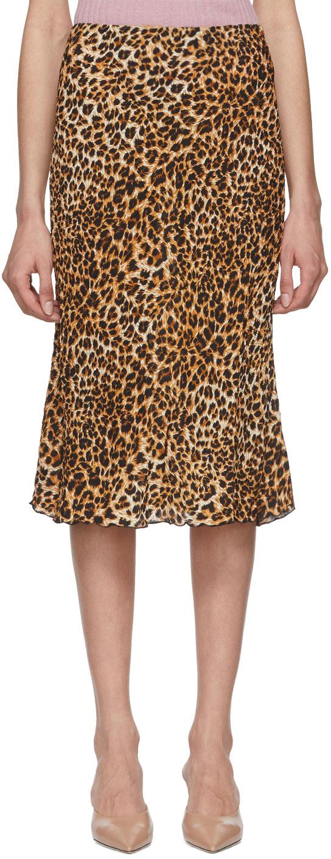 Leopard print skirt - Nanushka