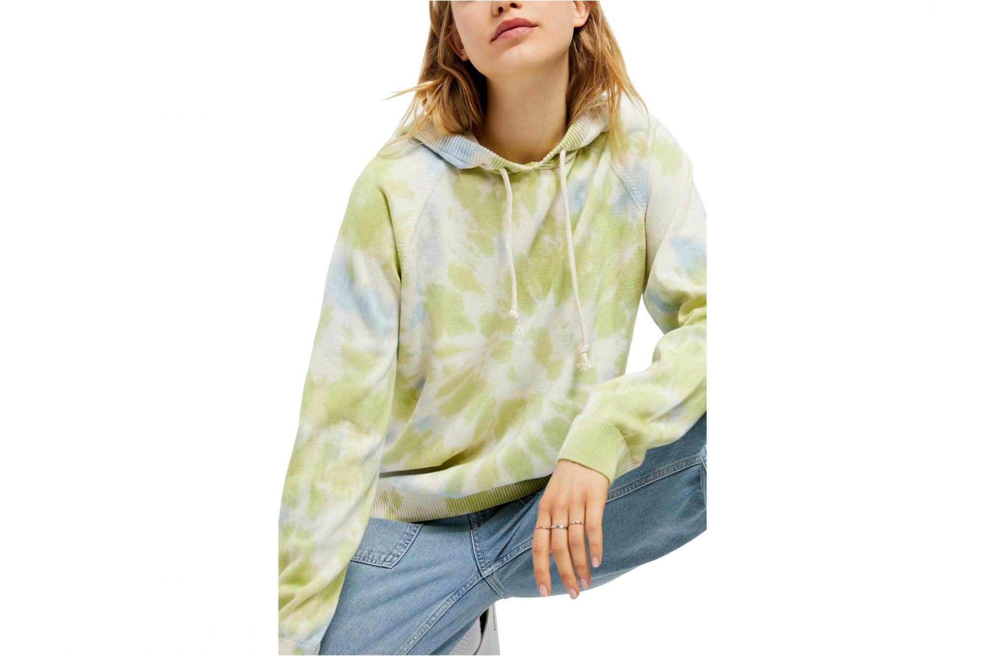 tie-dye fashion urban outfitters tie dye sweatshirt