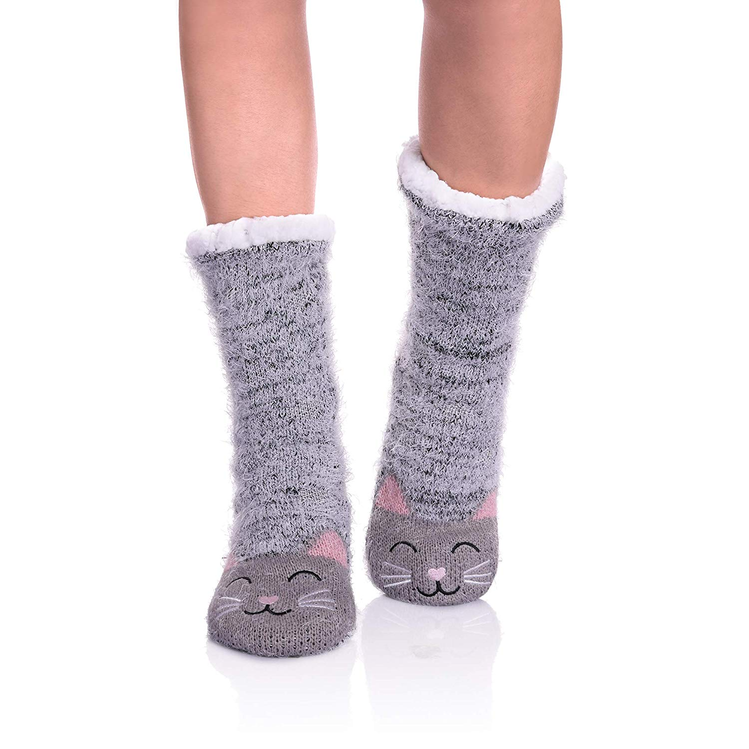 picture-of-cat-slipper-socks-photo
