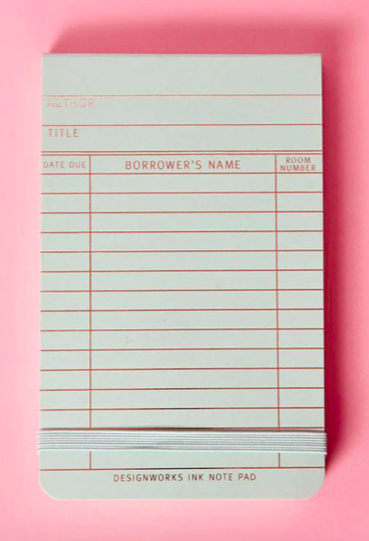 picture-of-library-card-notepad-photo