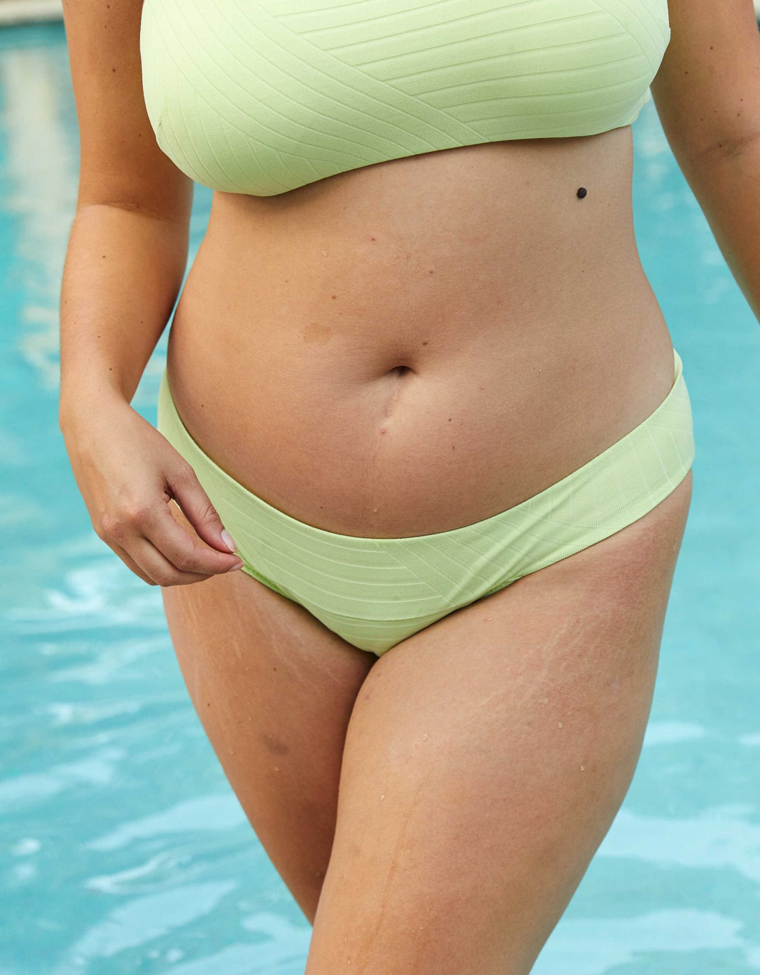 best bikinis aerie sea foam green ribbed bikini bottoms