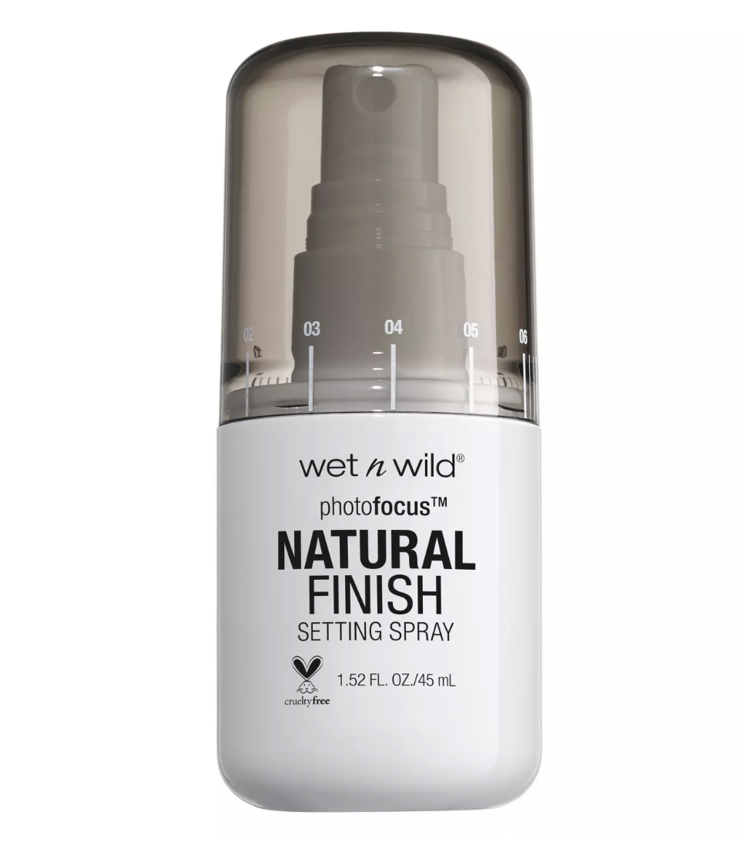 wet n wild natural finish setting spray