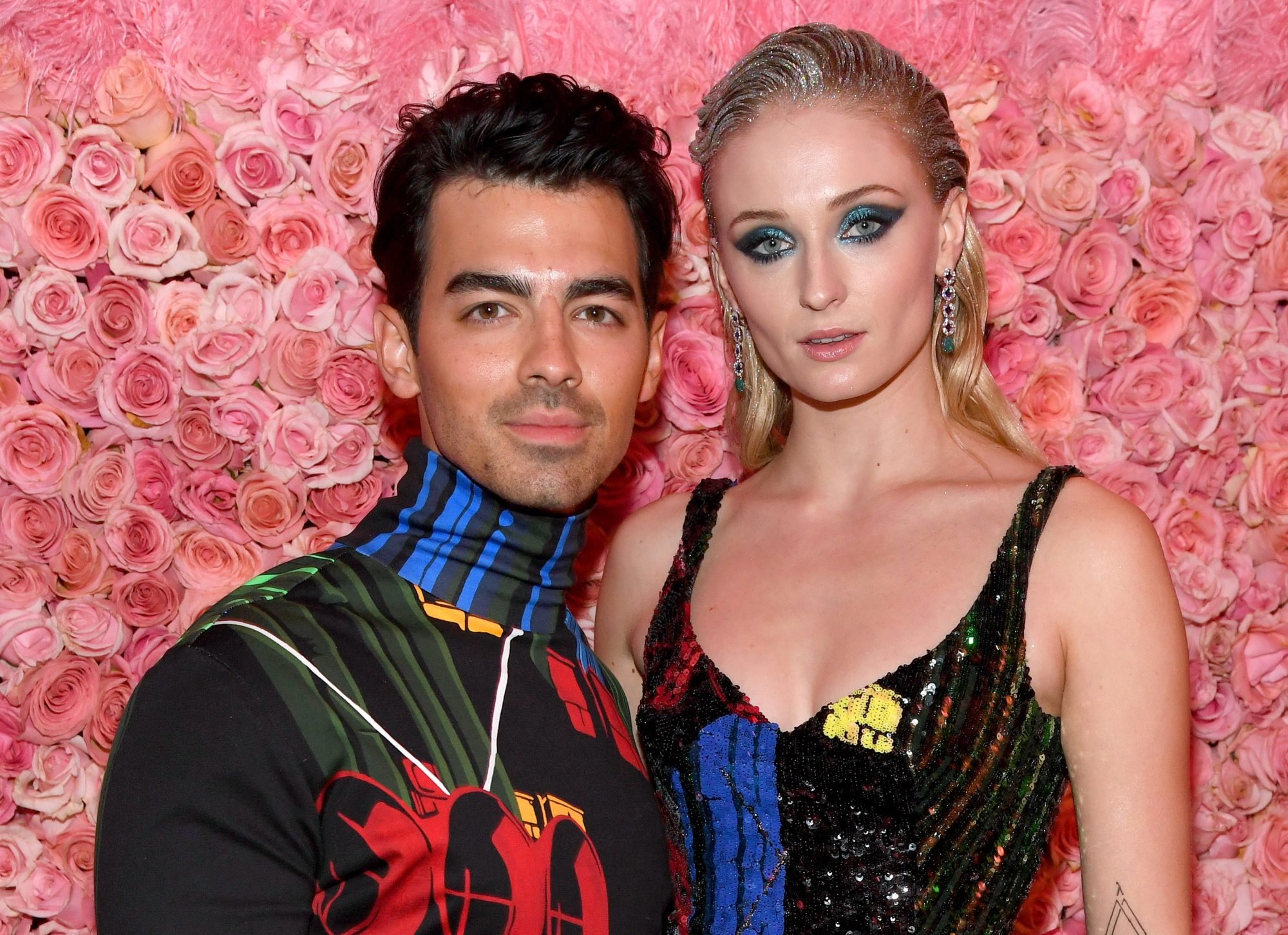 sophie turner and joe jonas met gala