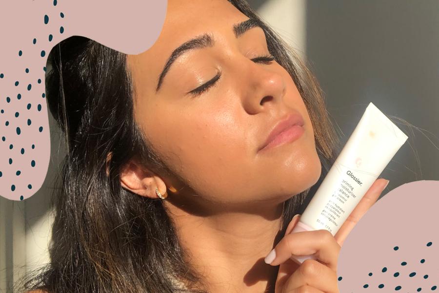glossier priming moisturizer balance review pia velasco hellogiggles